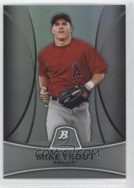 2010 Bowman Retail Chrome Prospects Thin Stock Refractor #PP5 - Mike Trout /999