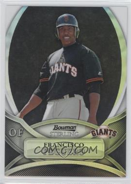 2010 Bowman Sterling - Prospects - Black Refractor #BSP-FPE - Francisco Peguero /25