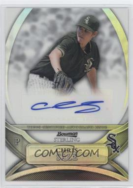 2010 Bowman Sterling - Prospects - Refractor Autographs [Autographed] #BSP-CS - Chris Sale /199