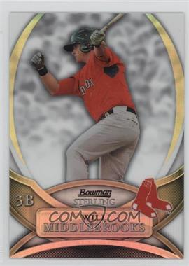 2010 Bowman Sterling - Prospects - Refractor #BSP-WMI - Will Middlebrooks /199