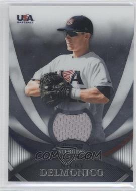 2010 Bowman Sterling - USA Baseball Relics #USAR-3 - Nicky Delmonico