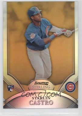 2010 Bowman Sterling [???] #3 - Starlin Castro /50