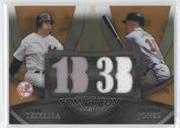 Mark Teixeira, Chipper Jones /50