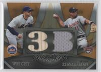 David Wright, Ryan Zimmerman /50
