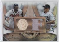 Jason Heyward, Mike Stanton /99