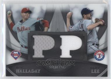 2010 Bowman Sterling Boxloader Dual Relics #BL-7 - Roy Halladay, Cliff Lee /199