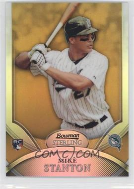 2010 Bowman Sterling Gold Refractor #17 - Giancarlo Stanton /50
