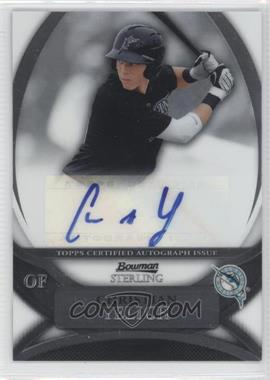 2010 Bowman Sterling MLB Future Stars Autographs [Autographed] #BSP-CY - Christian Yelich