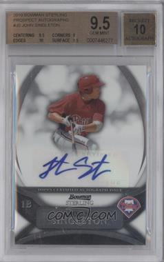 2010 Bowman Sterling MLB Future Stars Autographs [Autographed] #BSP-JS - Jonathan Singleton [BGS9.5]
