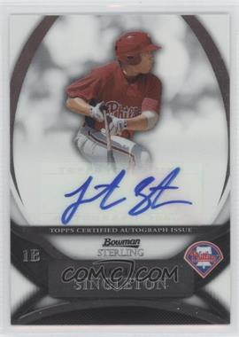 2010 Bowman Sterling MLB Future Stars Autographs [Autographed] #BSP-JS - Jonathan Singleton