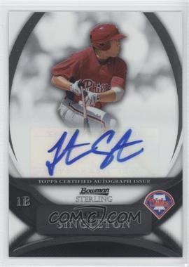 2010 Bowman Sterling MLB Future Stars Autographs [Autographed] #BSP-JS - Jonathan Singleton