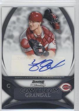 2010 Bowman Sterling MLB Future Stars Autographs [Autographed] #BSP-YG - Yasmani Grandal