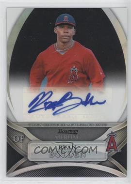 2010 Bowman Sterling MLB Future Stars Black Refractor Autograph [Autographed] #BSP-RBO - Ryan Bolden /25