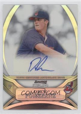 2010 Bowman Sterling MLB Future Stars Refractor Autograph [Autographed] #BSP-DP - Drew Pomeranz /199