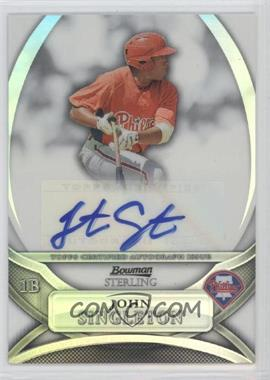 2010 Bowman Sterling MLB Future Stars Refractor Autograph [Autographed] #BSP-JS - Jonathan Singleton /199