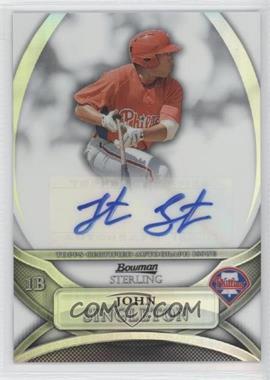 2010 Bowman Sterling MLB Future Stars Refractor Autograph [Autographed] #BSP-JS - Jonathan Singleton /199