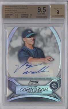 2010 Bowman Sterling MLB Future Stars Refractor Autograph [Autographed] #BSP-TWA - Taijuan Walker /199 [BGS9.5]