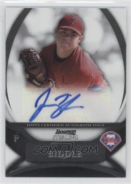 2010 Bowman Sterling Prospects Autographs [Autographed] #BSP-JB - Jesse Biddle