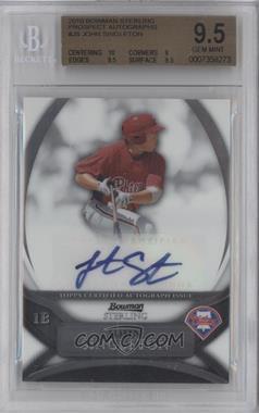 2010 Bowman Sterling Prospects Autographs [Autographed] #BSP-JS - Jonathan Singleton [BGS9.5]