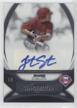 2010 Bowman Sterling Prospects Autographs [Autographed] #BSP-JS - Jonathan Singleton