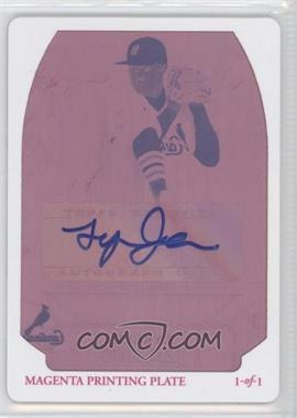 2010 Bowman Sterling Prospects Printing Plate Magenta Autographs [Autographed] #BSP-TJ - Tyrell Jenkins /1