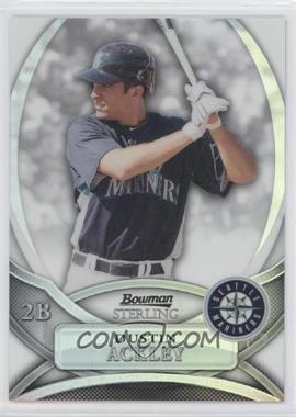2010 Bowman Sterling Prospects Refractor #BSP-DA - Dustin Ackley /199