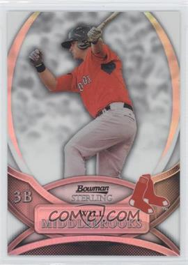 2010 Bowman Sterling Prospects Refractor #BSP-WMI - Will Middlebrooks /199