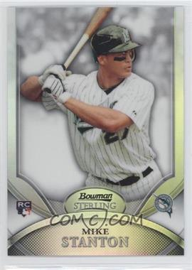 2010 Bowman Sterling Refractor #17 - Mike Stanton /199