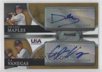 Dillon Maples, A.J. Vanegas /50