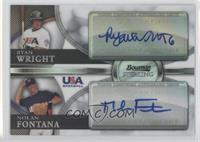 Ryan Wright, Nolan Fontana /99