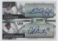 Mike Lowell, Christian Montgomery, Michael Lorenzen /99