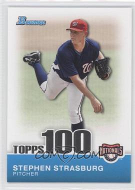 2010 Bowman Topps 100 Prospects #TP1 - Stephen Strasburg