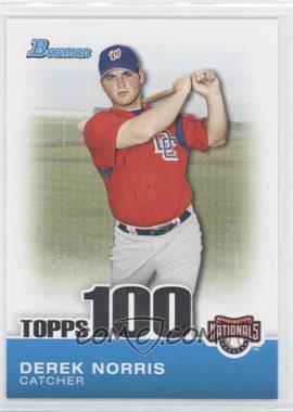 2010 Bowman Topps 100 Prospects #TP35 - Derek Norris