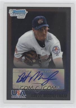 2010 Bowman Wrapper Redemption USA Buyback Certified Autographs [Autographed] #WR25 - Brian Moehler /99