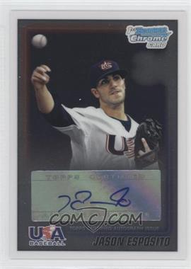 2010 Bowman Wrapper Redemption USA Buyback Certified Autographs [Autographed] #WR30 - Jason Esposito /99