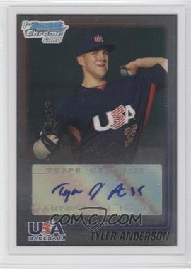 2010 Bowman Wrapper Redemption USA Buyback Certified Autographs [Autographed] #WR42 - Tyler Anderson /99