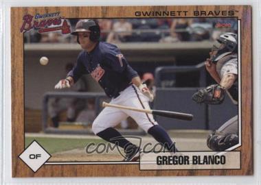 2010 Choice Gwinnett Braves - [Base] #1 - Gregor Blanco