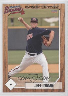 2010 Choice Gwinnett Braves - [Base] #15 - Jeff Lyman