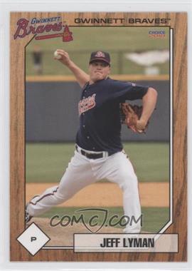 2010 Choice Gwinnett Braves #15 - [Missing]
