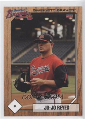 2010 Choice Gwinnett Braves #21 - Jo-Jo Reyes