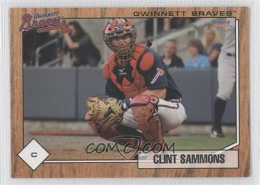 2010 Choice Gwinnett Braves #22 - Clint Sammons