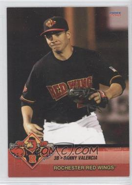 2010 Choice Rochester Red Wings #25 - Danny Valencia