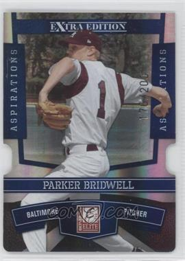 2010 Donruss Elite Extra Edition - [Base] - Aspirations Die-Cut #94 - Parker Bridwell /200