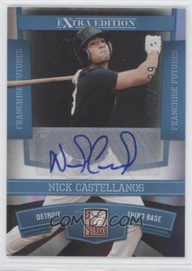 2010 Donruss Elite Extra Edition - [Base] - Franchise Futures Signatures [Autographed] #10 - Nick Castellanos /699