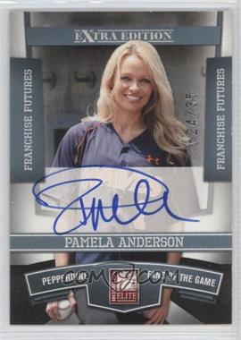 2010 Donruss Elite Extra Edition - [Base] - Franchise Futures Signatures [Autographed] #100 - Pamela Anderson /35