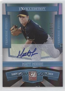 2010 Donruss Elite Extra Edition - [Base] - Franchise Futures Signatures [Autographed] #15 - Matt Moore /819