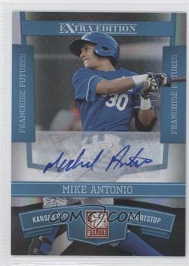 2010 Donruss Elite Extra Edition - [Base] - Franchise Futures Signatures [Autographed] #28 - Mike Antonio /99