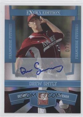 2010 Donruss Elite Extra Edition - [Base] - Franchise Futures Signatures [Autographed] #33 - Drew Smyly /799