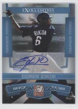 2010 Donruss Elite Extra Edition - [Base] - Franchise Futures Signatures [Autographed] #77 - Edinson Rincon /819