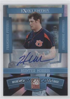 2010 Donruss Elite Extra Edition - [Base] - Franchise Futures Signatures [Autographed] #8 - Hunter Morris /619
